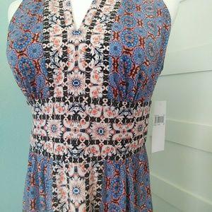 Wisp Dresses - NWT Wisp Ella Jersey Maxi Dress 6P